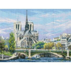 Собор Парижской Богоматери Ткань с рисунком Матренин посад