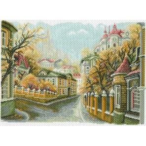 Московские улочки. Замоскворечье Ткань с рисунком Матренин посад