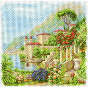 Средиземноморье Ткань с рисунком Матренин посад