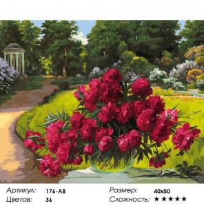 Количество цветов и сложность Лето в Архангельском Раскраска картина по номерам акриловыми красками на холсте Белоснежка