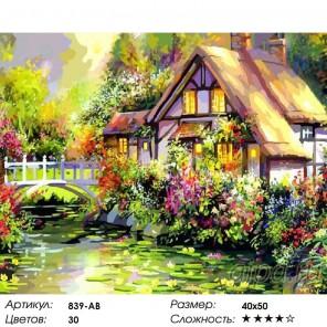 Количество цветов и сложность Яркое лето Раскраска картина по номерам акриловыми красками на холсте Белоснежка