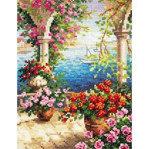 Цветочный бриз Набор для вышивания Чудесная игла