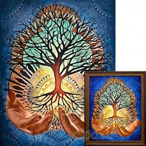 Древо жизни Алмазная вышивка мозаика Гранни