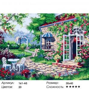 Терраса Раскраска картина по номерам акриловыми красками на холсте Белоснежка