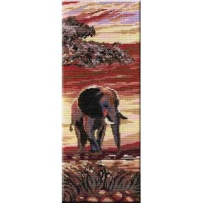 Триптих Слоны3 часть Набор для вышивания МП Студия