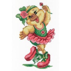 Уточка - балерина Набор для вышивания МП Студия