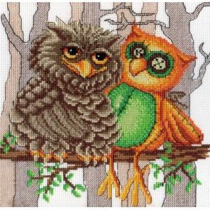 Друг совы Набор для вышивания МП Студия