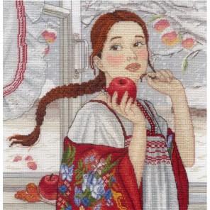 Зимняя красавица Набор для вышивания МП Студия