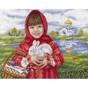 Пасхальный кролик Набор для вышивания МП Студия