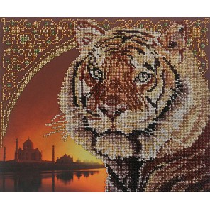 Тигр Набор для вышивания бисером МП Студия