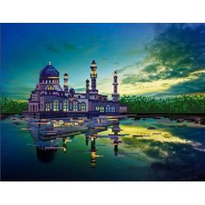 Мечеть Бандарая Канва с рисунком для вышивки бисером Конек