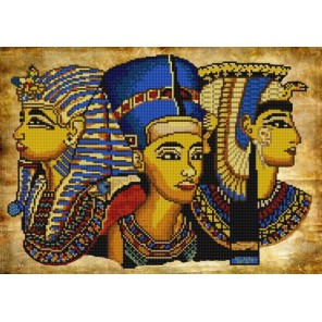 Египет Канва с рисунком для вышивки бисером Конек