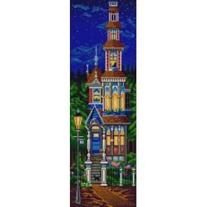 Сказочный домик Канва с рисунком для вышивки бисером Конек