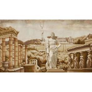 Античная Греция Канва с рисунком для вышивки бисером Конек