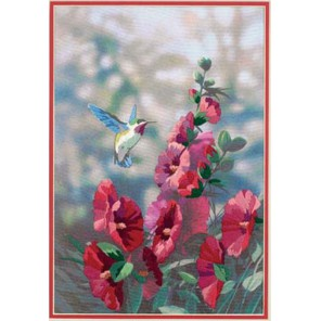 Колибри в цветах 11127 Набор для вышивания Dimensions ( Дименшенс )