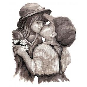 Поцелуй Набор для вышивания Овен