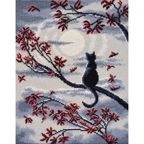 Лунный кот Набор для вышивания Овен