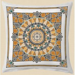 Подушка. Калейдоскоп-1 Набор для вышивания Овен