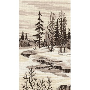 Весна триптих №1 Набор для вышивания Овен