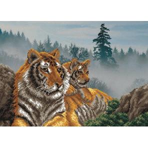 Утро в тигровой пади Набор для вышивки бисером Матренин посад