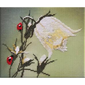 Белый колокольчик Набор для вышивания Овен