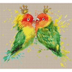 Попугаи Набор для вышивания Luca-S
