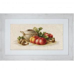 Натюрморт с овощами Набор для вышивания Luca-S
