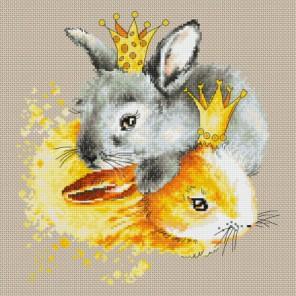 Кролики Набор для вышивания Luca-S