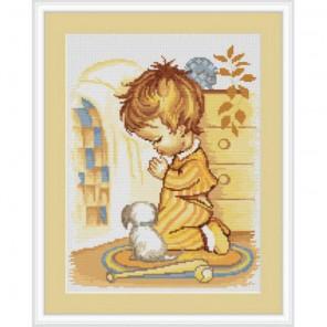 Мольба мальчика Набор для вышивания Luca-S