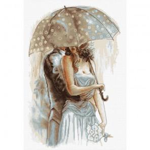 Под зонтом 2 Набор для вышивания Luca-S