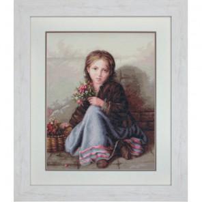 Портрет девочки Набор для вышивания Luca-S