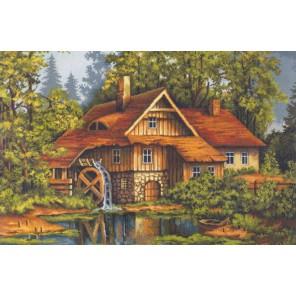 Мельница в лесу Набор для вышивания Luca-S