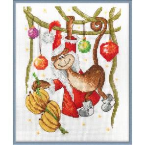 Новогоднее лакомство Набор для вышивания Машенька 01.033.24