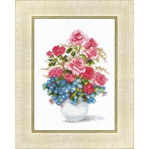 Розы и незабудки Набор для вышивания Чаривна Мить ВТ-023