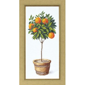 Апельсиновое дерево Набор для вышивания Чаривна Мить ВТ-127