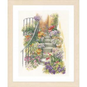 Flower stairs Набор для вышивания Lanarte PN-0169680