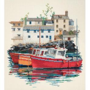 Fishin Village Набор для вышивания Derwentwater Designs SEA04