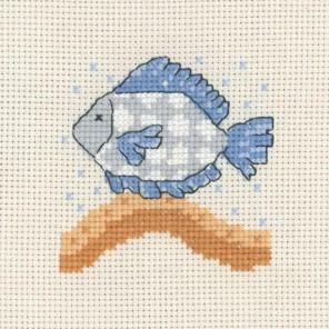 Рыбка Набор для вышивания Permin 14-3133