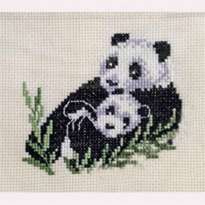 Панда Набор для вышивания Permin 12-2372