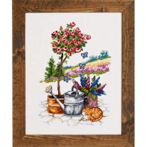 Розовое дерево Набор для вышивания Permin 70-2359