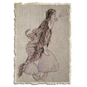 Coprins des Fees (Лесной гриб) Набор для вышивки крестом Nimue 74-M013K