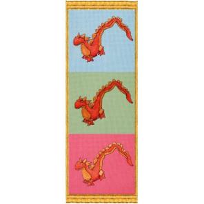 3 Dragons (Три дракона) Набор для вышивки крестом Nimue 125-B006K