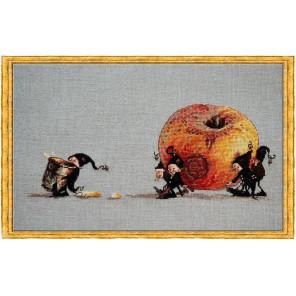 Pomme (Яблочко) Набор для вышивки крестом Nimue 70-M006K