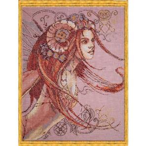 Signes des Fees - Belier (Знак зодиака Овен) Набор для вышивки крестом Nimue 130-G005K