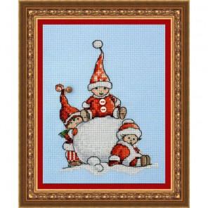 Зимние забавы Набор для вышивания Neocraft ПР-10