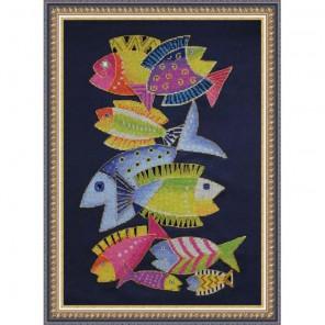 Райские рыбки Набор для вышивания Neocraft ЦТ-06