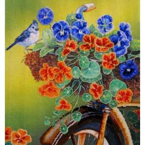 Старенький велосипед Набор для вышивания Kustom Krafts NNT-063