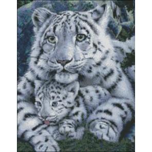 Леопард и Детеныш Набор для вышивания Kustom Krafts 99327