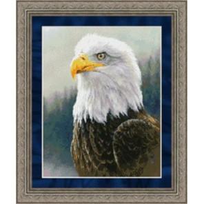 Белоголовый орлан Набор для вышивания Kustom Krafts 98177
