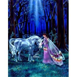 Под сказочной луной Набор для вышивания Kustom Krafts 98747